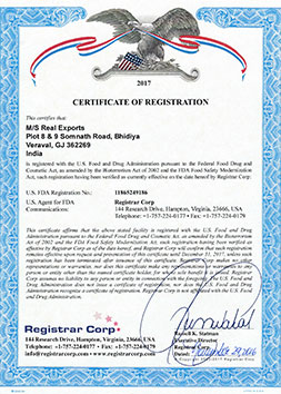 US-FDA-CERTIFICATE